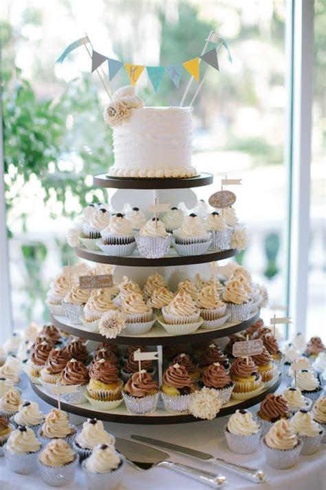 18 Totally Unique Wedding Cake Cupcake Ideas   Style