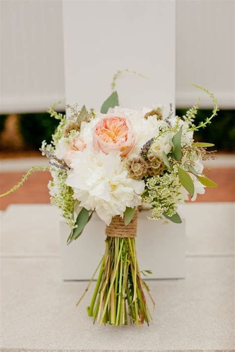 How to create a rustic bridal bouquet!   Wedding   Rustic