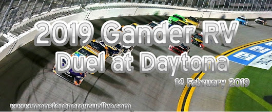 2019 Gander RV Duel at Daytona Live Stream