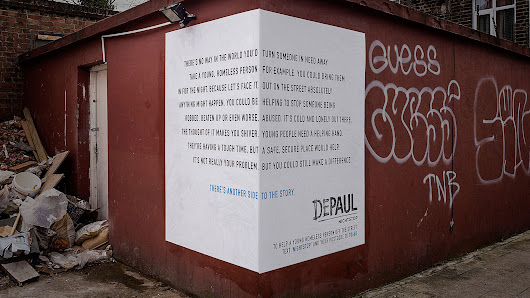 The Trick Copy on These Clever Ads Shows Another Side to Homelessness