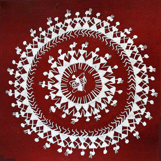 WARLI Painting Workshop - Pune  Heart for Art Trust