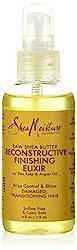 Shea Moisture Organic Raw Shea Butter Reconstructive Elixir Review  via  www.productreviewmom.com