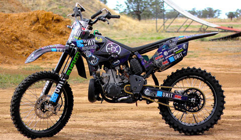 FORTY8 BIKETECH - FMX Bike of the month March 2014 - Joel Brown