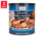 Savanna Honey Roasted Mix Nuts 30 oz, 2 Pack