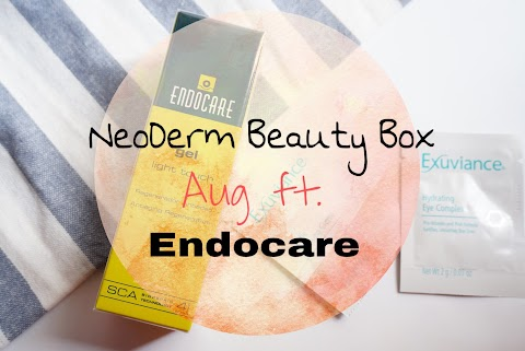 NeoDerm Beauty Box 八月feat. Endocare