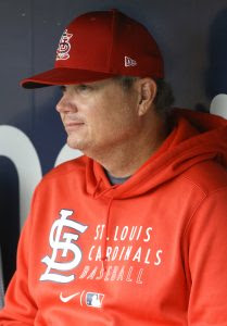 Cardinals Dismiss Manager Mike Shildt