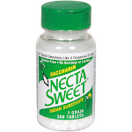 Necta Sweet Sugar Substitute, Saccharin, 1 Grain - 500 tablets