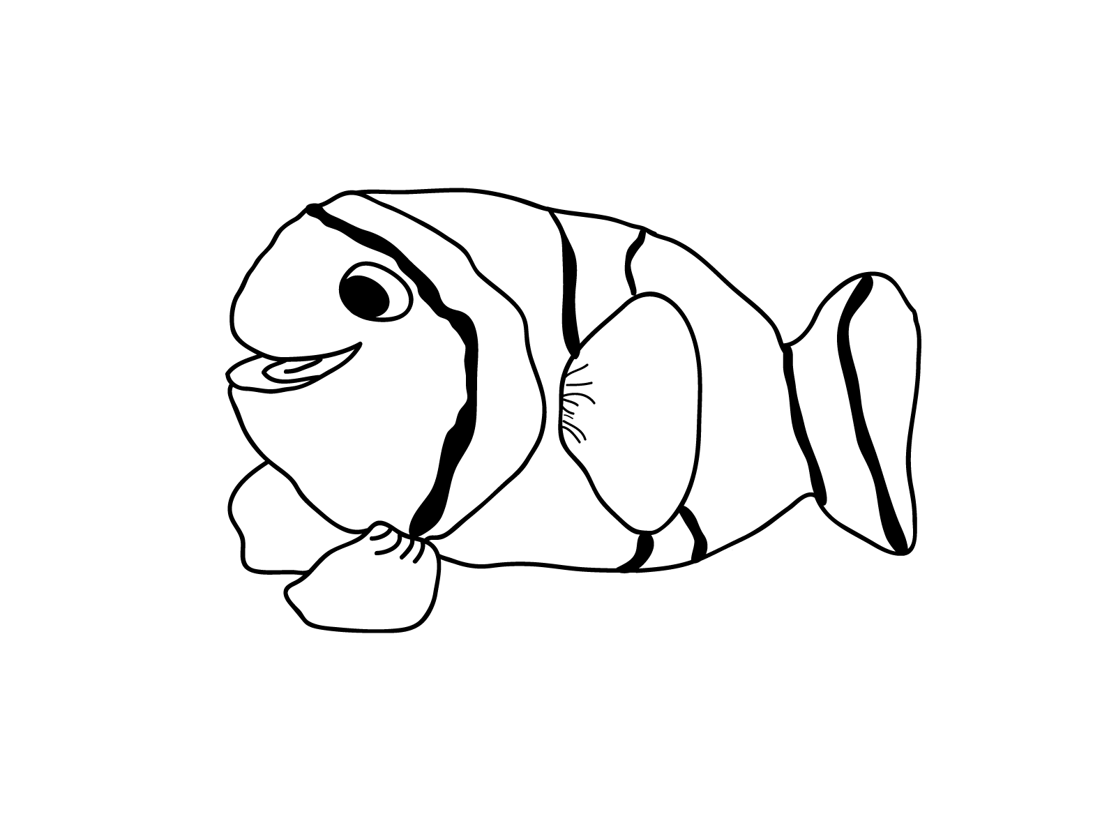 Realistic Tropical Fish Coloring Pages   Clipart Panda ...