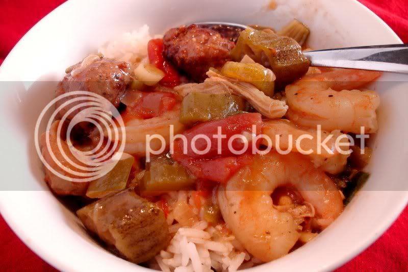 Seafood & Sausage Gumbo