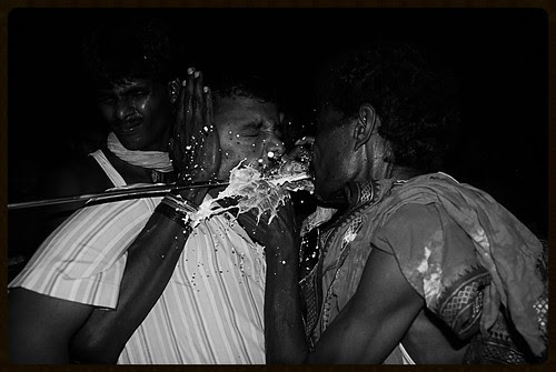 Spitting Milk In The Mouth To Lubricate The Rod To Move Within by firoze shakir photographerno1