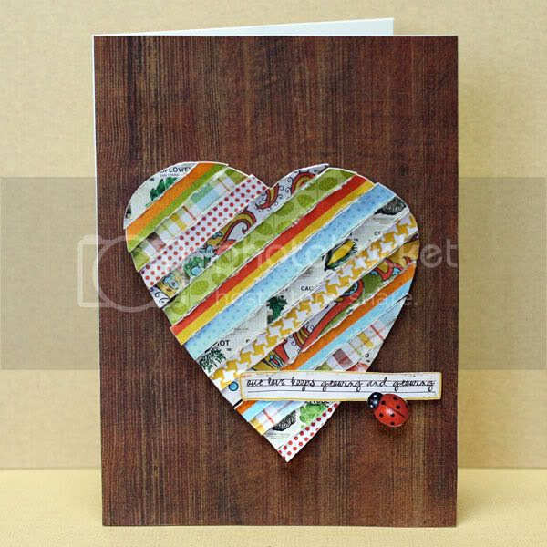 Our Love Keeps Growing card