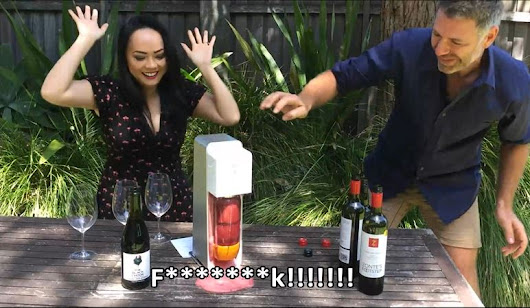 Yes; you can make  'champagne' and Sparkling Shiraz in a SodaStream