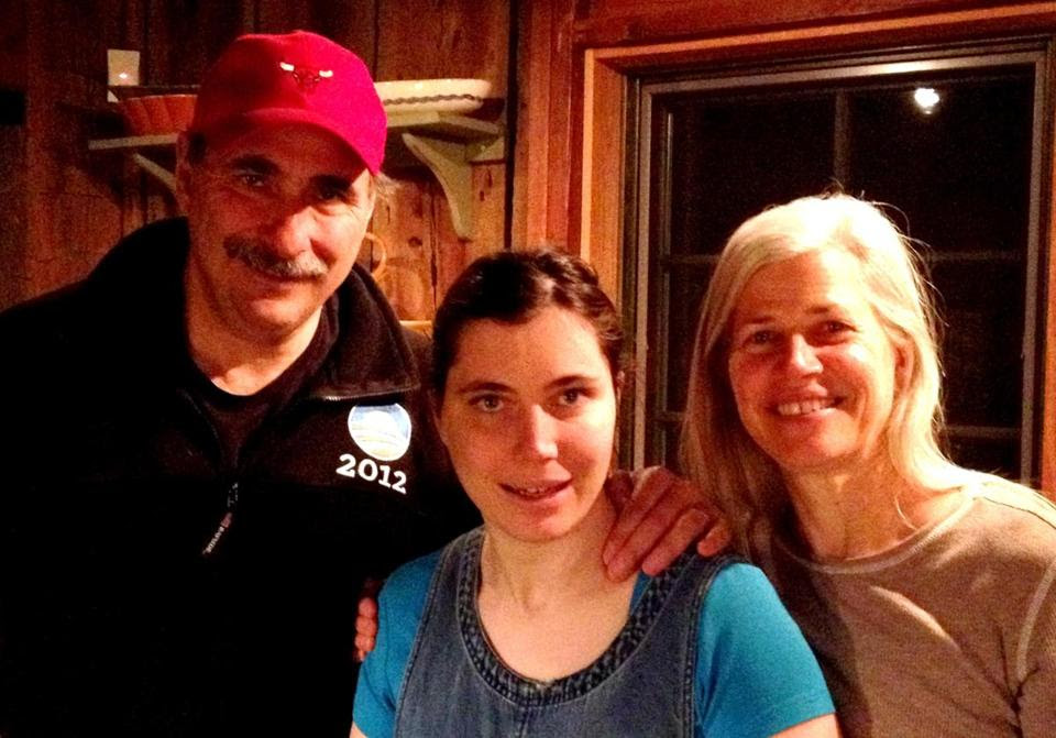 David and Susan Axelrod and their daughter, Lauren, who was afflicted with epilepsy from infancy into adolescence before a medication was found to treat the seizures.