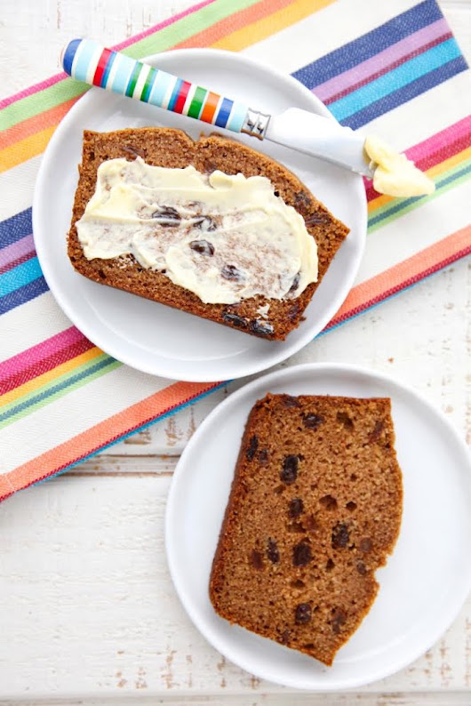 Cinnamon Raisin Quick Bread + 100 Days of Real Food Cookbook Giveaway
