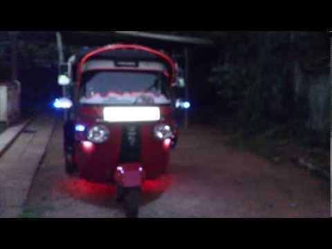 Sri Lanka Threewheel Modified Versionbajaj 4stroke Mp4