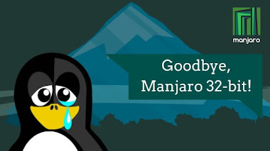 Addio a Manjaro 32-bit