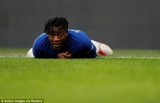 Since moving to west London, Batshuayi has struggled to lock down a regular starting place