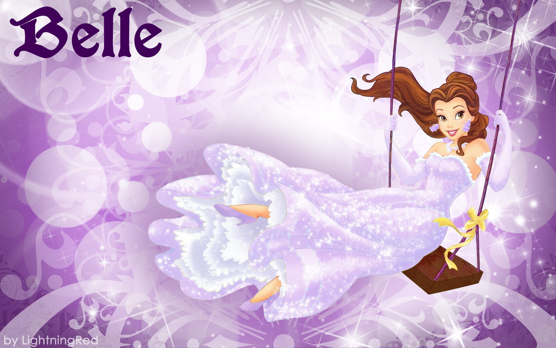 Purple Belle 壁紙 ディズニープリンセス 壁紙 31673208 ファン