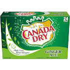 Canada Dry Ginger Ale - 24 pack, 12 fl oz cans