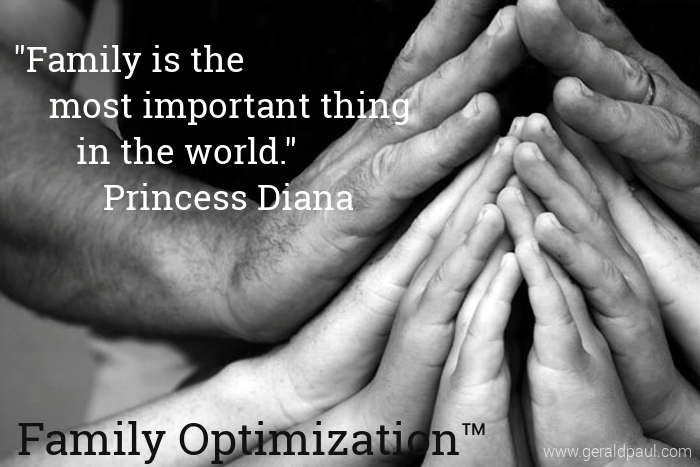Family Optimization Strong Families Success And Happiness