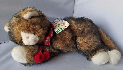 Shop Nick & Noel Cat Kitty Christmas Bells Holiday Calico Plush Toy Commonwealth 1992 | TrueGether