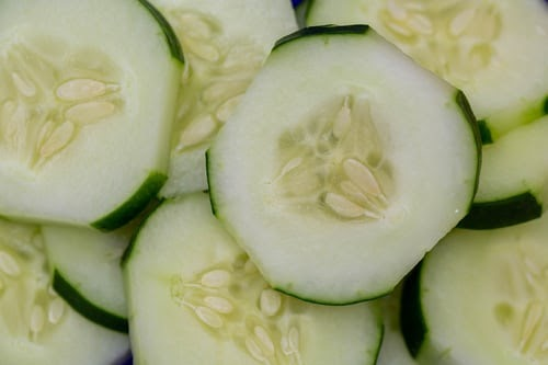 Cucumber and apple detox juice