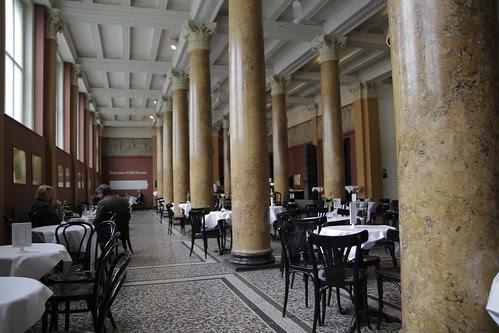Cafe at Kunsthalle Hamburg