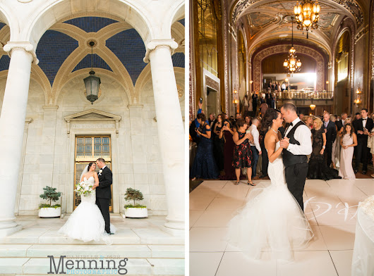 Alyvia & Josh Wedding | Downtown Youngstown Fairytale Wedding at DeYor Performing Arts Center | Powers Auditorium