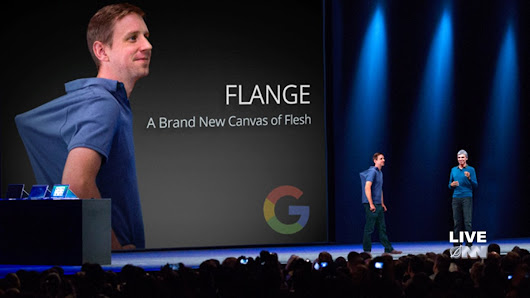 Google Creates the 'Flange',  A New Artificial Body Part to Give Users More Places to Strap Gadgets Onto