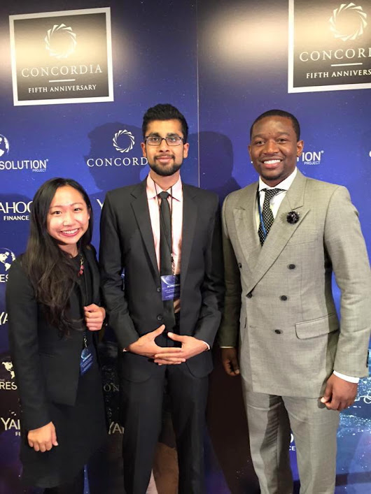 Attending the Concordia Summit as Resolution Fellow