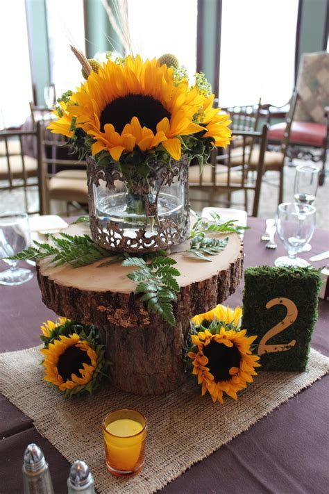 Savannah's Garden: Kristin's Fall Sunflower Wedding at