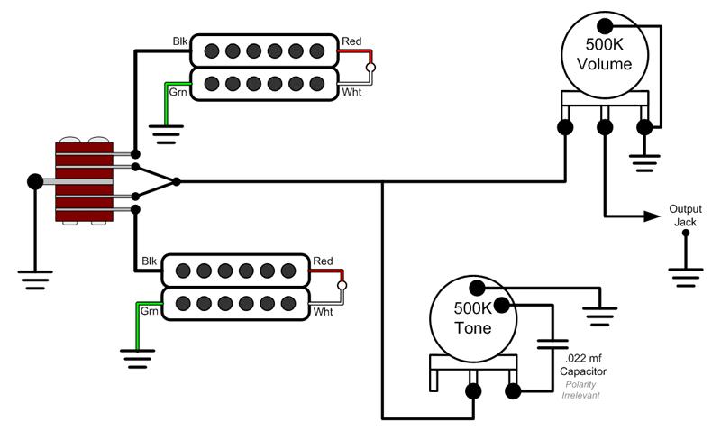 Carvin Humbucker Wiring Diagram