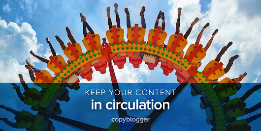 Feed the Content Monster with the Help of a Closed-Circle Content Loop - Copyblogger -