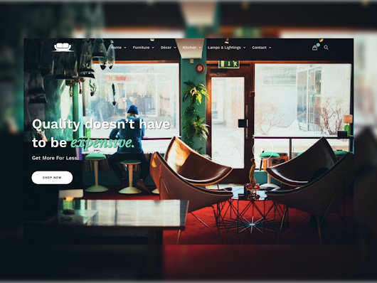 Furniture E-commerce Landing Page
