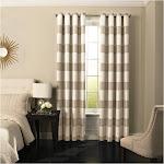 Beautyrest Gaultier Room Darkening Window Curtain Panel, Size: 52 x 84, Beige