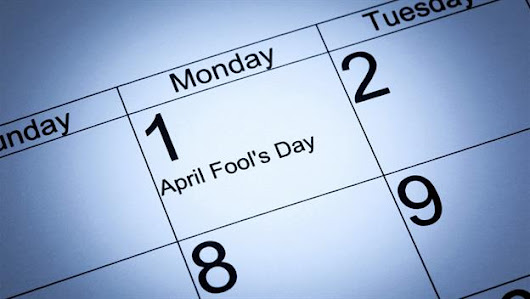 April Fools tradition popularized