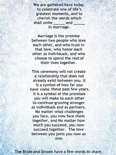 26 best Wedding Ceremony, readings, poems and