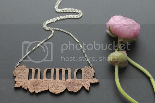 Introducing the mama necklace