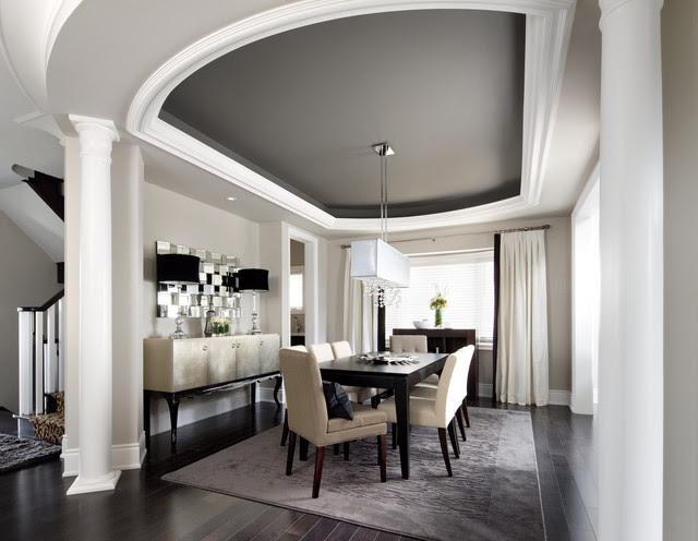 Jane Lockhart Interior Design - transitional - dining room