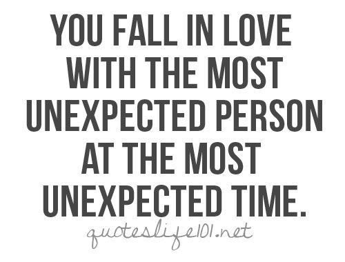 Quote I Love: You Fall in Love With…