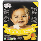 Nosh Teething Wafers, Organic, Baby Munchables, Banana & Mango - 13 pack, 0.14 oz packs