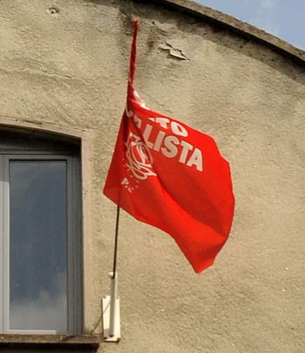 Bandiera del partito socialista