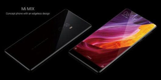 Xiaomi Mi MIX official: 6.4-inch ceramic monster with high-end specs and a 91.3% screen-to-body ratio