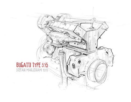 Type 57S motor by Stefan Marjoram