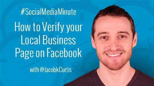 How to Verify Your Local Business Page on Facebook -