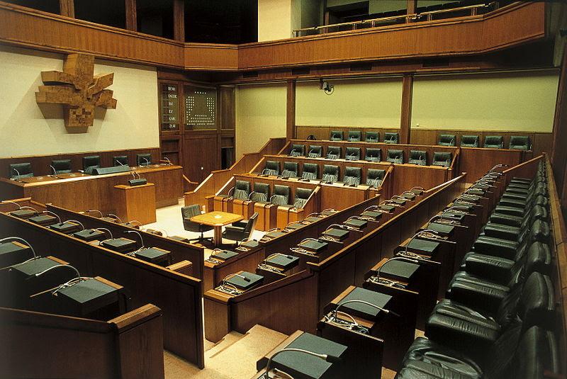 <p>Parlamento Vasco.</p>