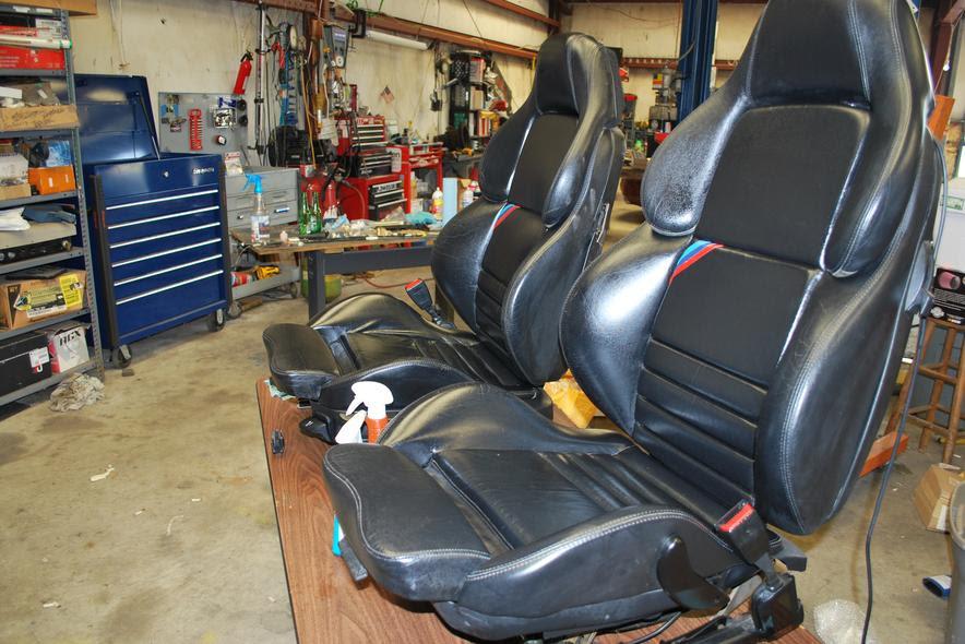 Black E36 Vader Seats
