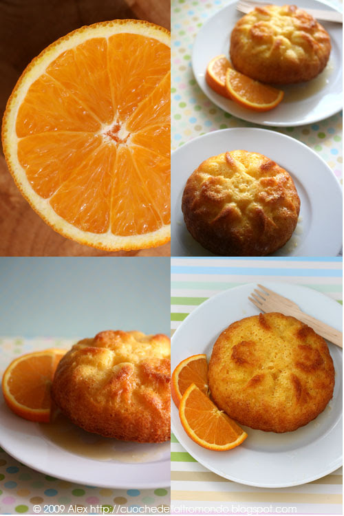 Tortine all'arancia