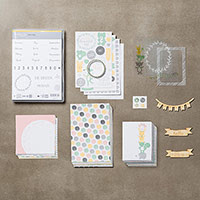 Hallo Baby Girl Project Life Bundle (German) by Stampin' Up!