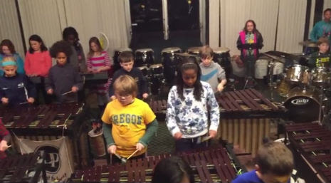 Kickass kids cover Led Zeppelin songs on xylophones!